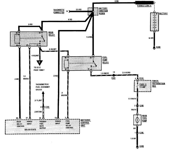 94 cadillac deville fuel pump wiring diagram
