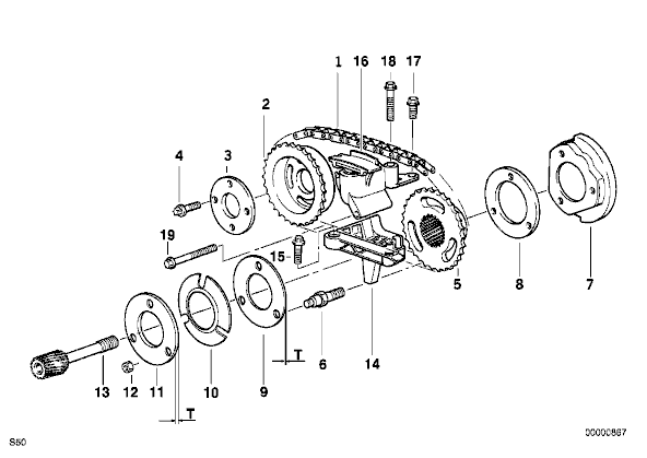 2000 bmw 540i belt diagram