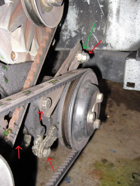 Stuck on timing belt DIY v power steering belt - R3VLimited