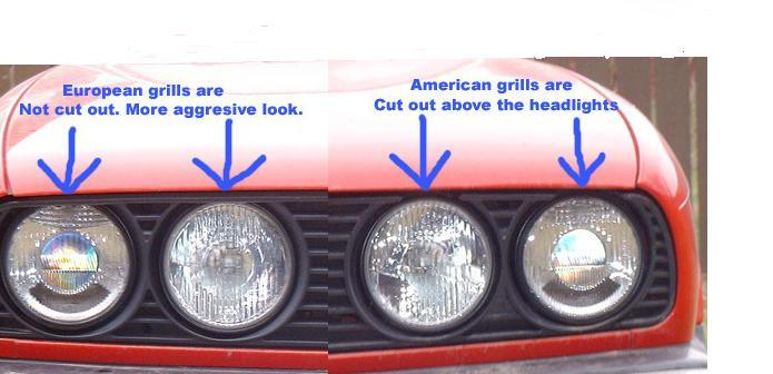 E30 Euro Grills New Shipment In 69 A Set Shipped Usa R3vlimited Forums