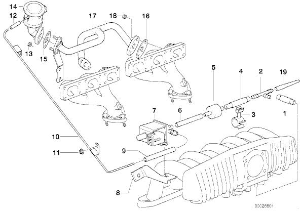 Bmw M52 Vacuum Diagram. Bmw. Auto Parts Catalog And Diagram