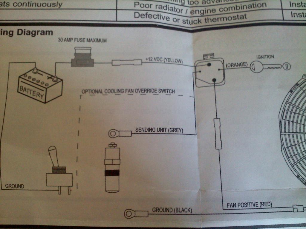 Spal Electrical Fan Install R3vlimited Forums 10 Wiring Diagram Fans Attached Images