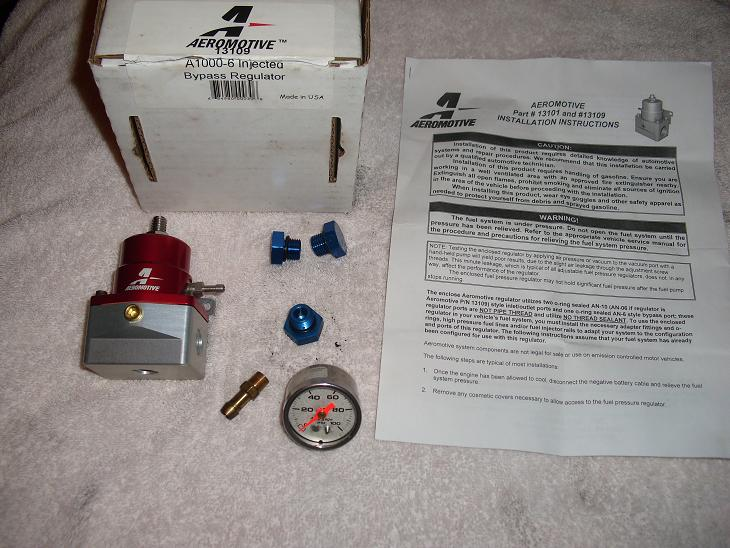 aeromotive a1000 fuel pressure regulator instructions