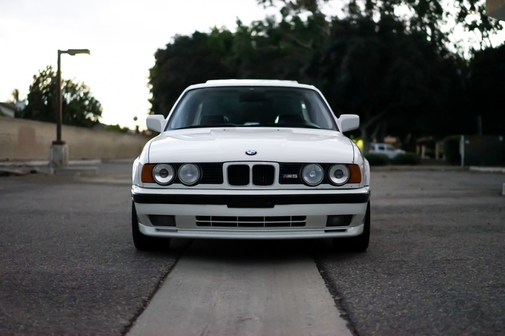 E34 Fs 1991 Bmw E34 M5 Alpine White