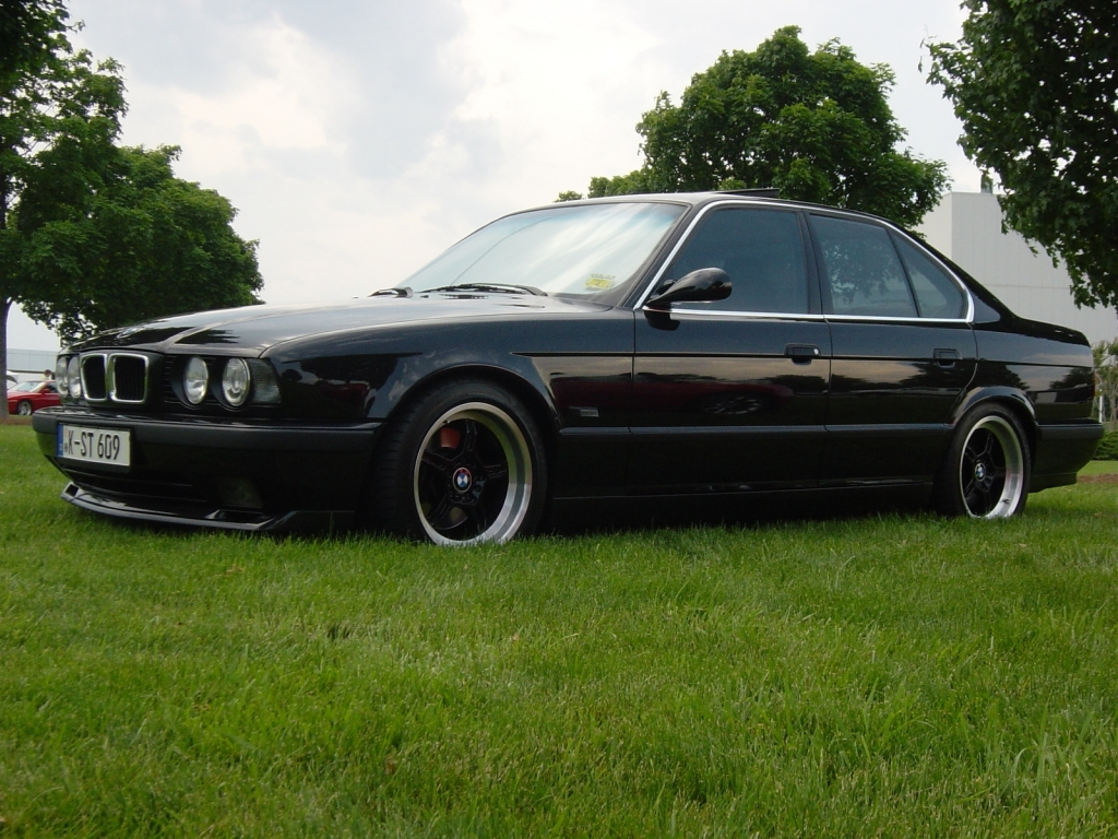 Тюнинг BMW 5-series E34.