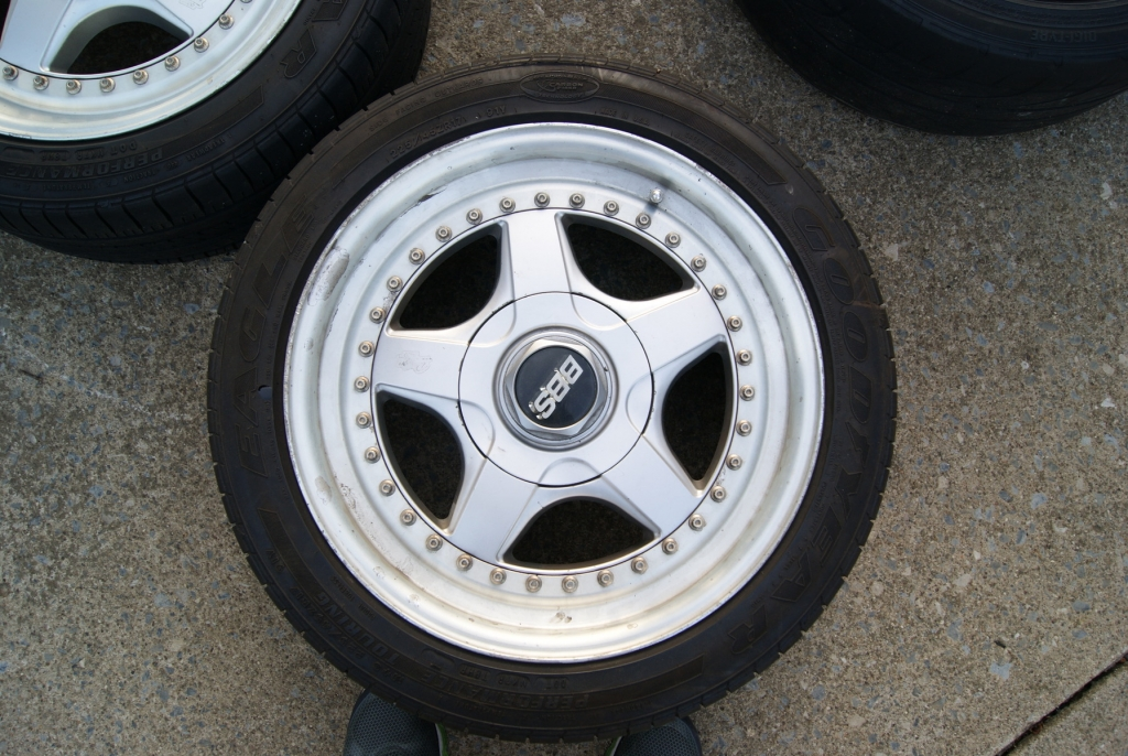 New Set Of Wheels 3 Piece Bbs Rf