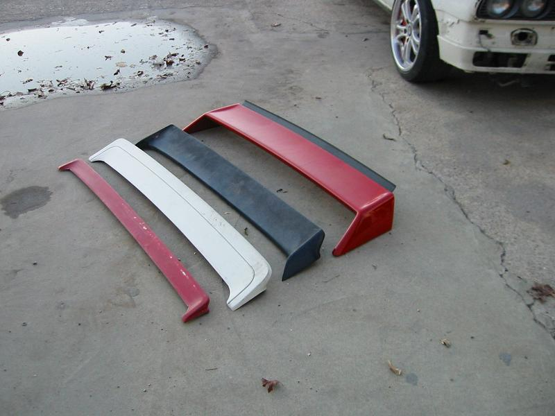 What Are My Spoiler Options For My E30